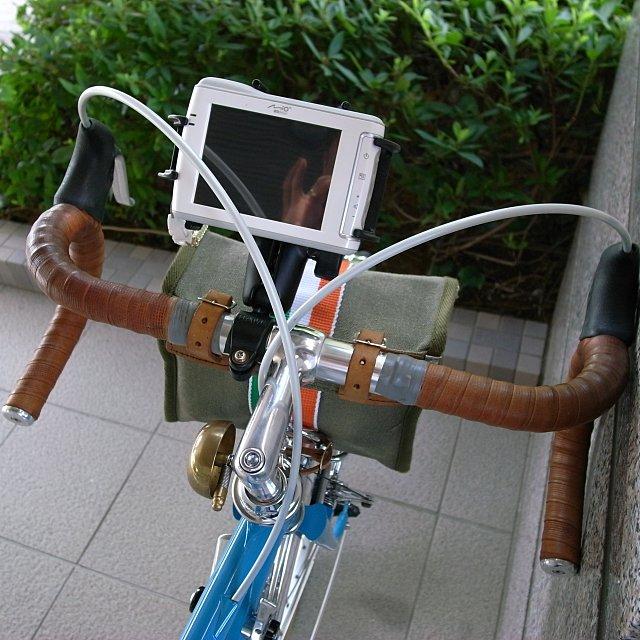 gr digital ⅱ 自転車 に も ナビ ...